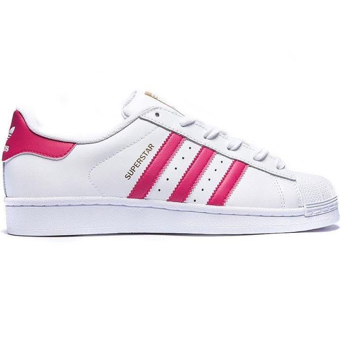 recognized brands premium selection popular stores Réduction authentique adidas superstar pas cher rose Baskets ...