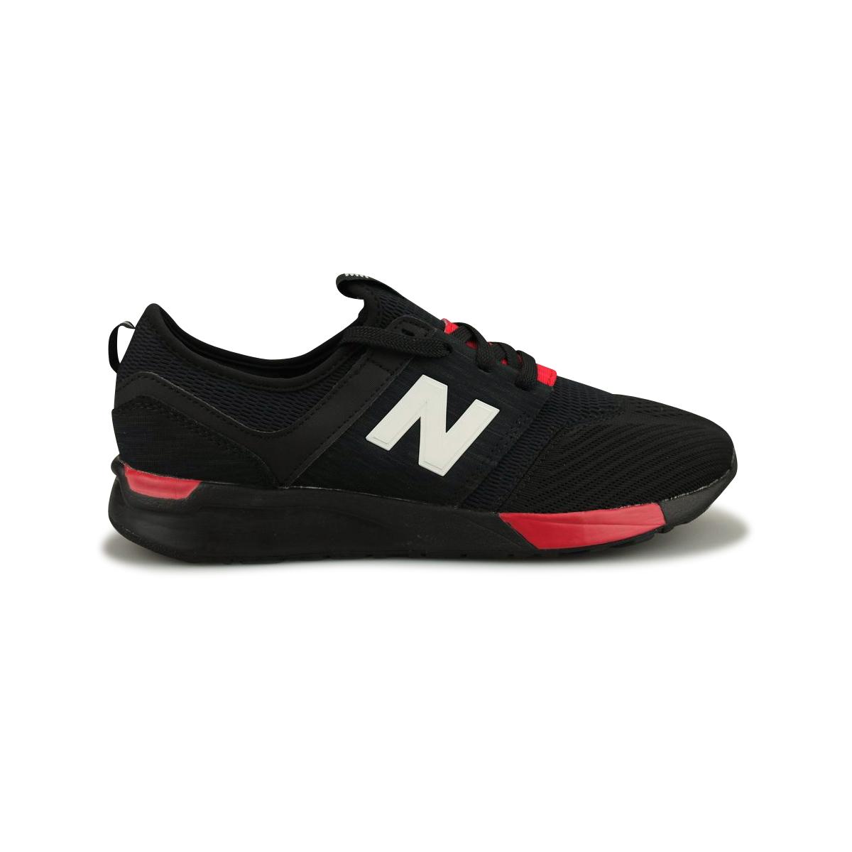 baskets new balance noir et rouge